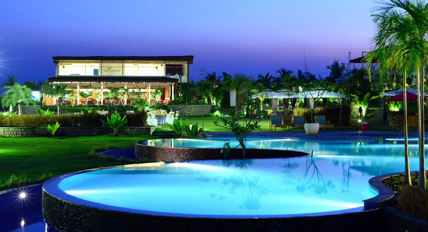 Palm exotica best luxury resorts in hyderabad for Resorts with private swimming pool in hyderabad