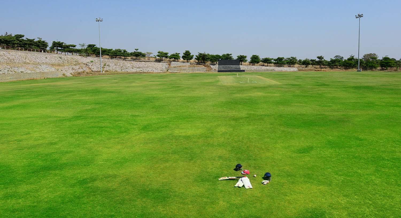 20-20 cricket stadium, Palm Exotica