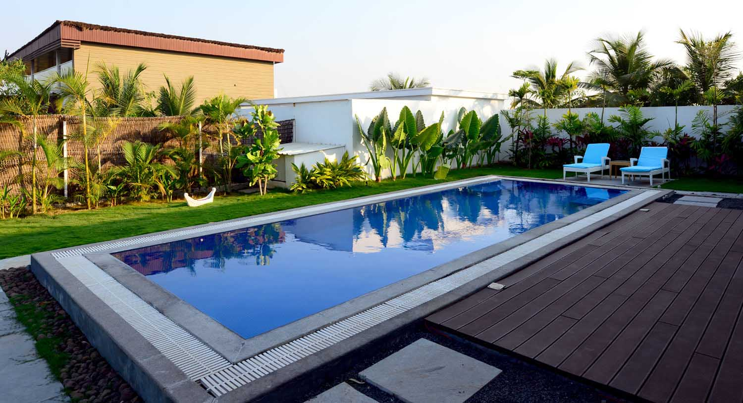 Royal palm villa book luxury villa online in hyderabad palm exotica resorts for Resorts with private swimming pool in hyderabad