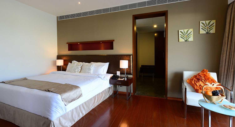 Royal Palm Villa bedroom, Palm Exotica