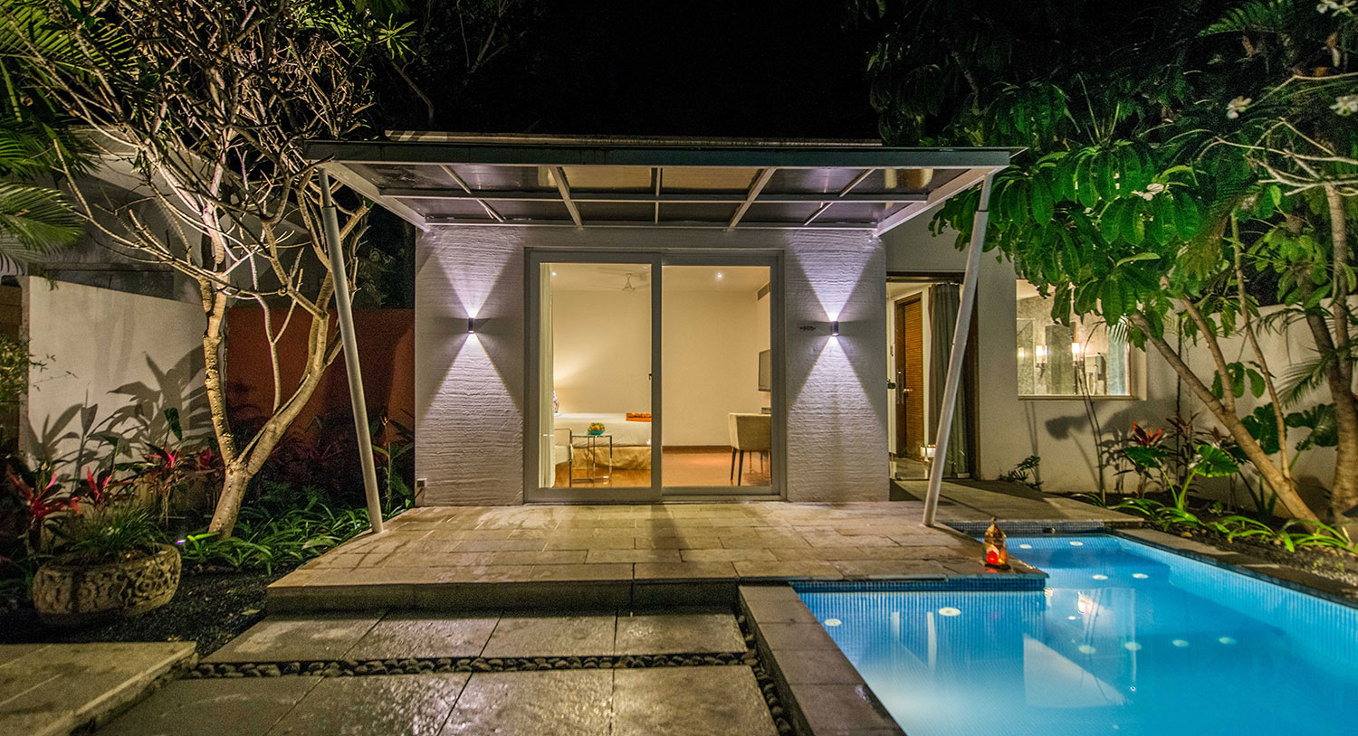 Temple Tree Villa Attached Mini Pool, Palm Exotica - Best Resorts in Hyderabad