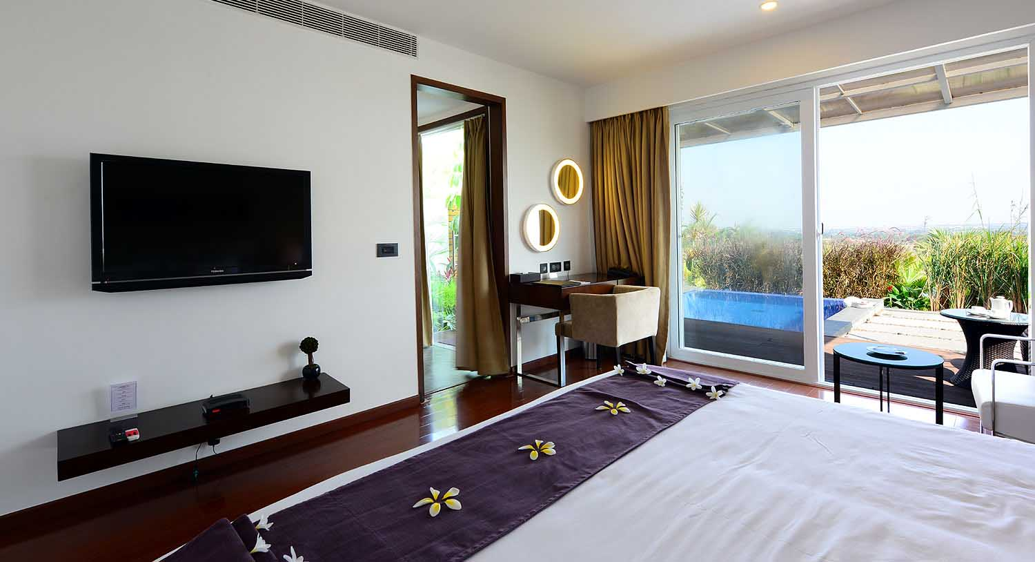 Temple Tree Villa Attached Pool, Palm Exotica - Best Resorts in Hyderabad